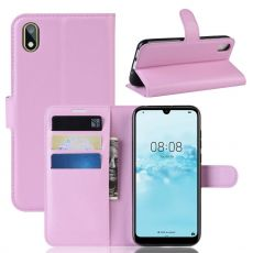 LN Flip Wallet Y5 2019/Honor 8S Pink