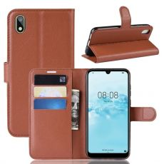 LN Flip Wallet Y5 2019/Honor 8S Brown