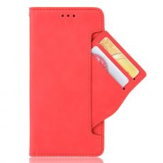 LN Flip Wallet 5card Honor 9X  red