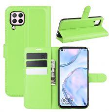 LN Flip Wallet Huawei P40 Lite green