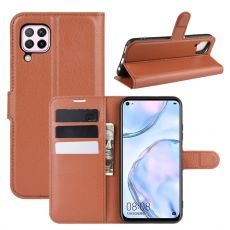 LN Flip Wallet Huawei P40 Lite brown