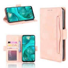 LN Flip Wallet 5card Huawei P40 Lite pink