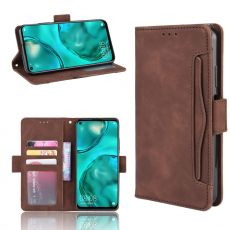 LN Flip Wallet 5card Huawei P40 Lite brown