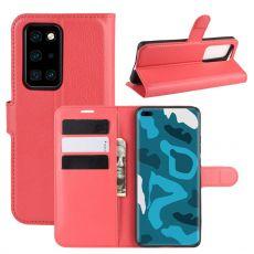 LN Flip Wallet Huawei P40 Pro red