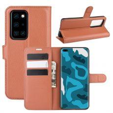 LN Flip Wallet Huawei P40 Pro brown