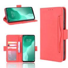 LN 5card Flip Wallet Huawei P40 Lite 5G Red