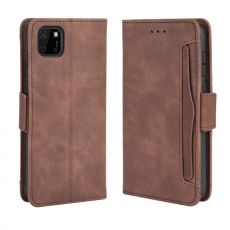 LN 5card Flip Wallet Huawei Y5p/Honor 9S Brown