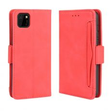LN 5card Flip Wallet Huawei Y5p/Honor 9S Red