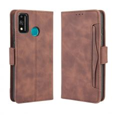 LN 5card Flip Wallet Honor 9X Lite Brown