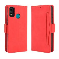 LN 5card Flip Wallet Honor 9X Lite Red