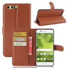 Luurinetti Huawei P10 Plus suojalaukku brown