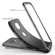 iPaky Moto G5S Plus suojakuori silver