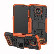 Luurinetti kuori tuella Moto Z3/Z3 Play orange