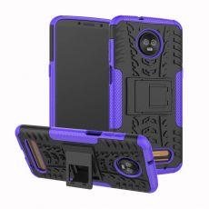 Luurinetti kuori tuella Moto Z3/Z3 Play purple
