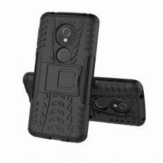 Luurinetti suojakuori tuella Moto E5 black