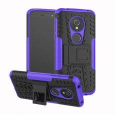Luurinetti suojakuori tuella Moto E5 purple