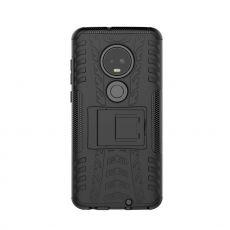 Luurinetti kuori tuella Moto G7/G7 Plus black