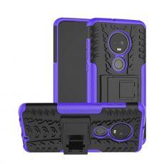 Luurinetti kuori tuella Moto G7/G7 Plus purple