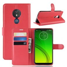 Luurinetti Flip Wallet Moto G7 Power red
