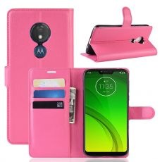 Luurinetti Flip Wallet Moto G7 Power rose