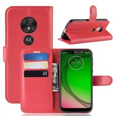 Luurinetti Flip Wallet Moto G7 Play red