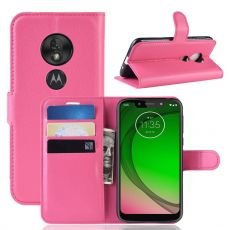 Luurinetti Flip Wallet Moto G7 Play rose