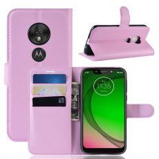 Luurinetti Flip Wallet Moto G7 Play pink