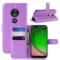 Luurinetti Flip Wallet Moto G7 Play purple