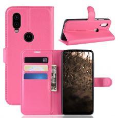 LN Flip Wallet Motorola One Vision Rose