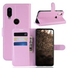 LN Flip Wallet Motorola One Vision Pink
