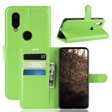 LN Flip Wallet Motorola One Vision Green