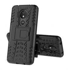 LN suojakuori tuella Motorola Moto G7 Power Black