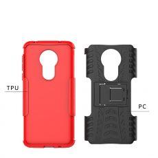 LN suojakuori tuella Xiaomi Redmi Note 7 Red