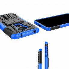 LN suojakuori tuella Motorola Moto G7 Power Blue