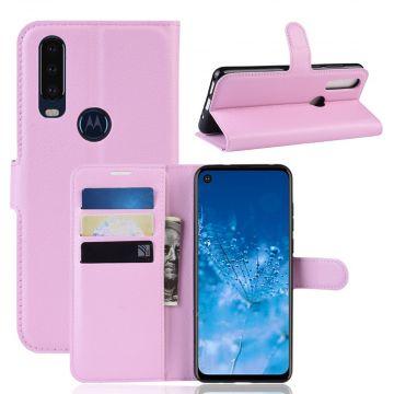 LN Flip Wallet Motorola One Action pink