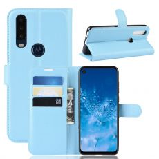 LN Flip Wallet Motorola One Action blue