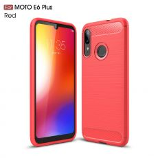 LN TPU-suoja Moto E6 Plus red