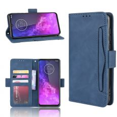 LN Flip Wallet Motorola One Zoom blue