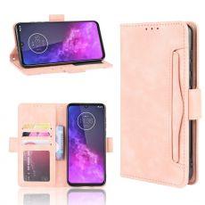 LN Flip Wallet Motorola One Zoom pink