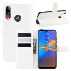 LN Flip Wallet Moto E6 Plus white