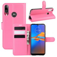 LN Flip Wallet Moto E6 Plus rose