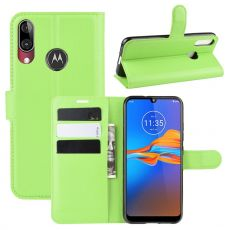 LN Flip Wallet Moto E6 Plus green