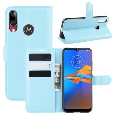LN Flip Wallet Moto E6 Plus blue