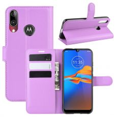 LN Flip Wallet Moto E6 Plus purple