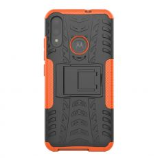 LN kuori tuella Moto E6 Plus orange