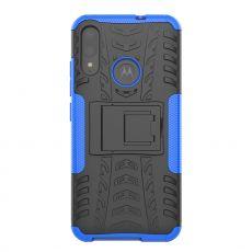 LN kuori tuella Moto E6 Plus blue