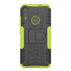 LN kuori tuella Moto E6 Plus green