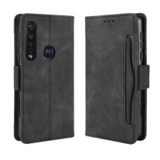 LN Flip Wallet 5card Moto G8 Plus black