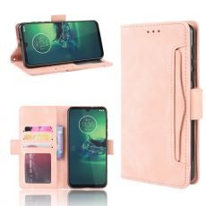 LN Flip Wallet 5card Moto G8 Plus rose