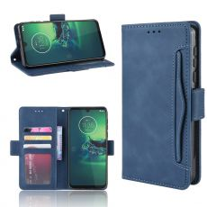 LN Flip Wallet 5card Moto G8 Plus blue
